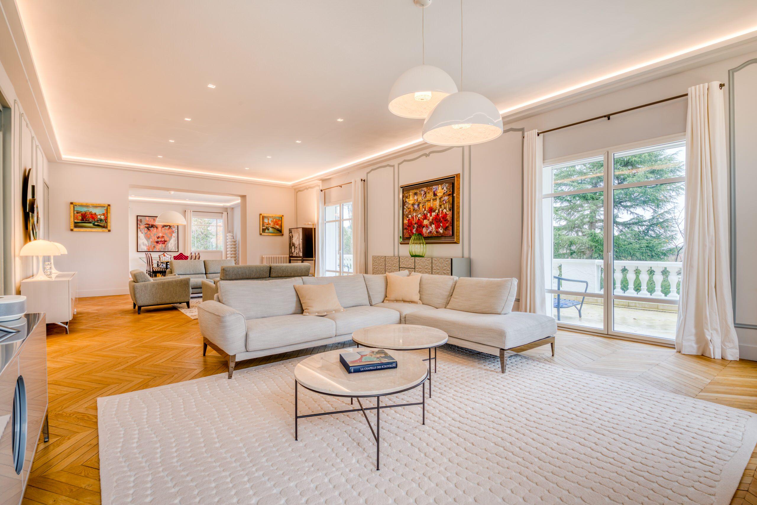 Villa de 650 m2 à Saint-Germain-en-Laye - Le séjour
