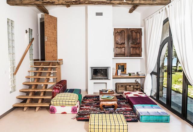 villa porto vecchio m diterran en salon corse par banzai prod. Black Bedroom Furniture Sets. Home Design Ideas