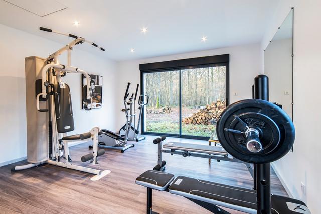 Moderne Salle De Sport Modern Home Gym Le Havre