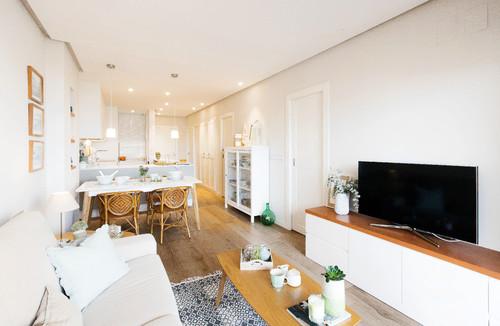 muebles bajos para no obstaculizar la entrada de luz