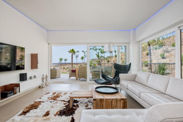 Apartamento moderno decorado por bo concept for Como decorar un apartamento moderno