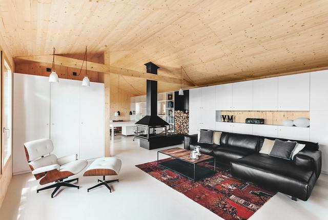 Casa Estudio de Madera - Scandinavo - Soggiorno - Barcellona - di ...