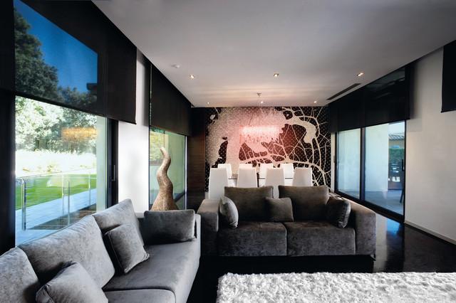Cortinas tradicionales venecianas verticales panel for Cortinas salon clasico