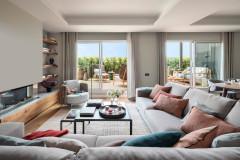 Un ático en Barcelona de espacios abiertos y grandes terrazas