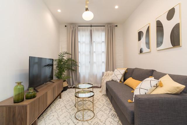 Home Staging Alquiler en Logroño scandinavian-living-room