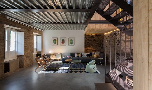 La vivienda y el estudio en el centro de santiago de - Estudios santiago de compostela ...