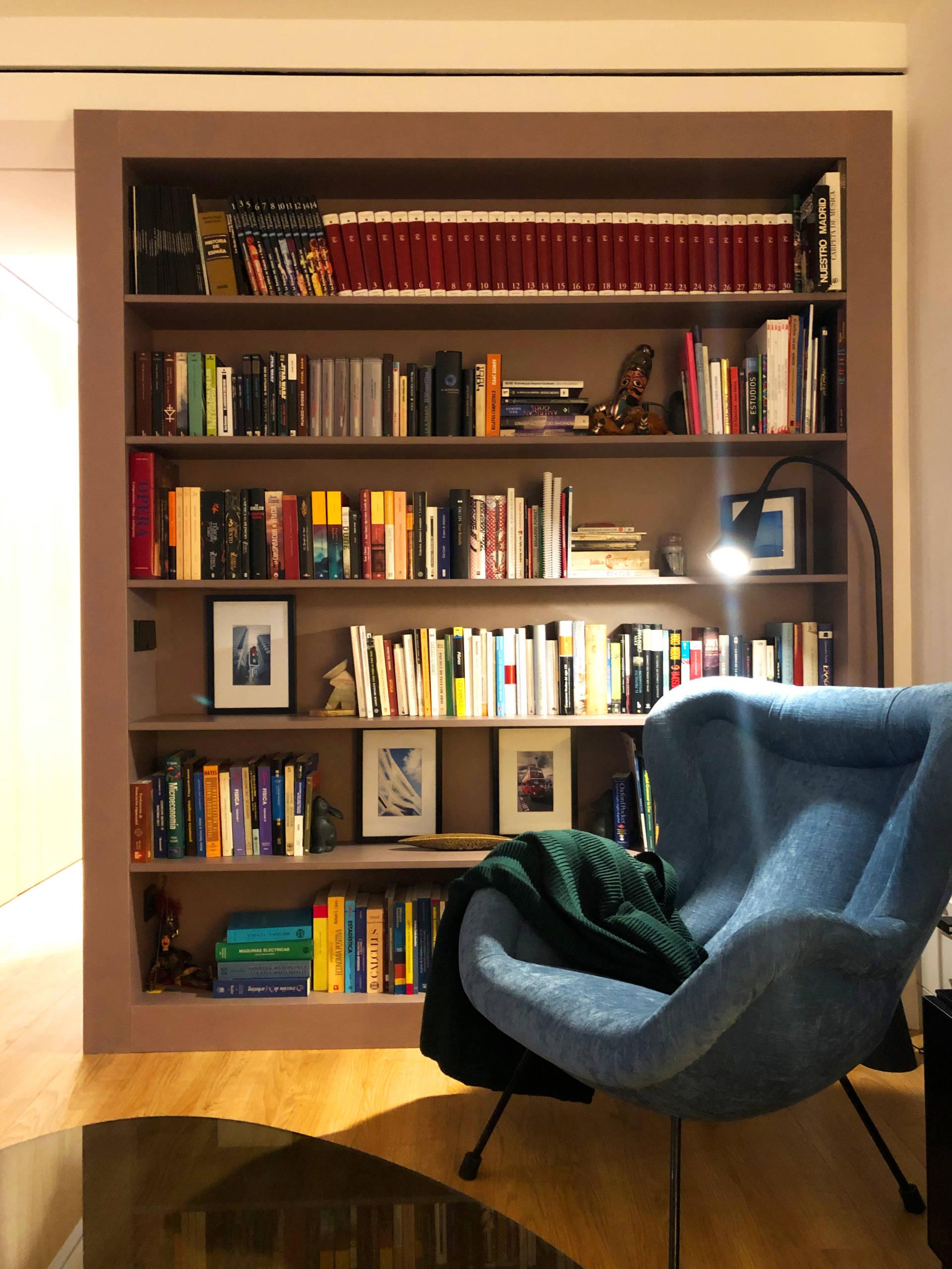 Librería salón.