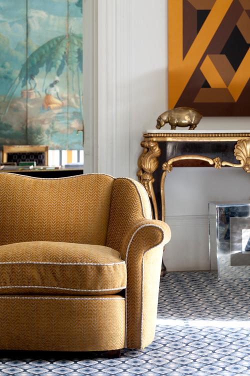 Ideas para tapizar un sof - Telas chenille para tapizar ...