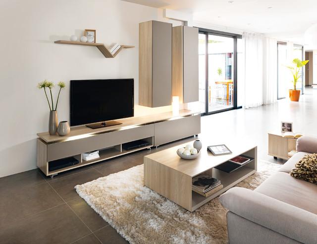 Muebles comedor apilable moderno ARTIGO - Contemporáneo - Salón ...
