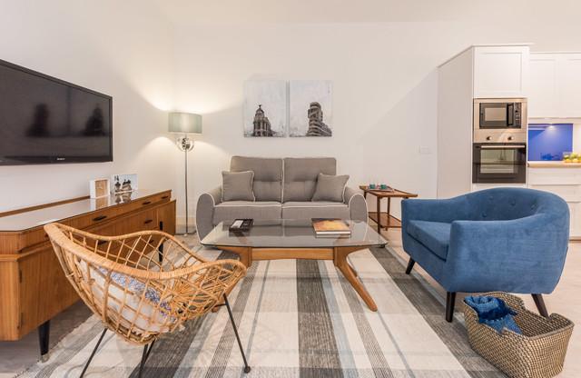 Rehabilitacion vivienda para apartamento turistico en madrid - Apartamento turistico madrid ...