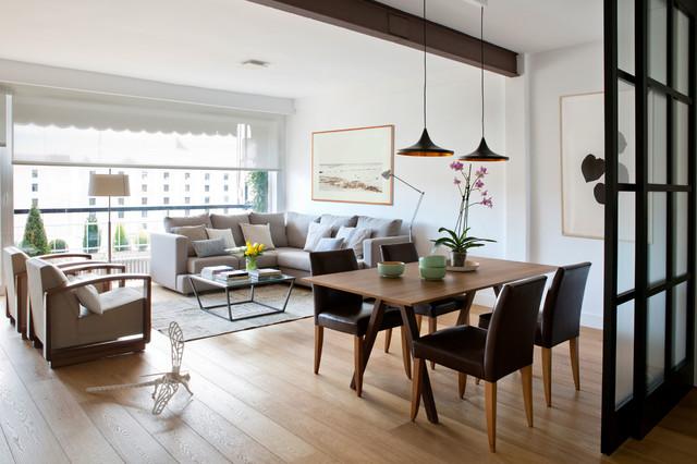 SALON - COMEDOR - Modern - Wohnbereich - Madrid - von Interiorismo ...