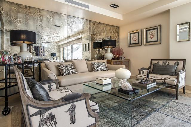 Vivienda En La Urbanización La Finca IV Contemporary Living Room