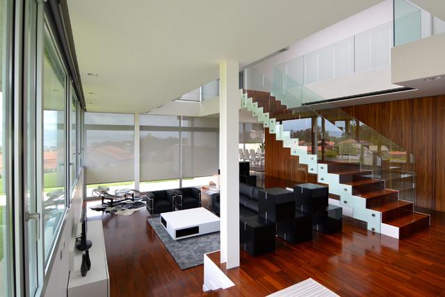vivienda unifamiliar en cangas pontevedra moderno