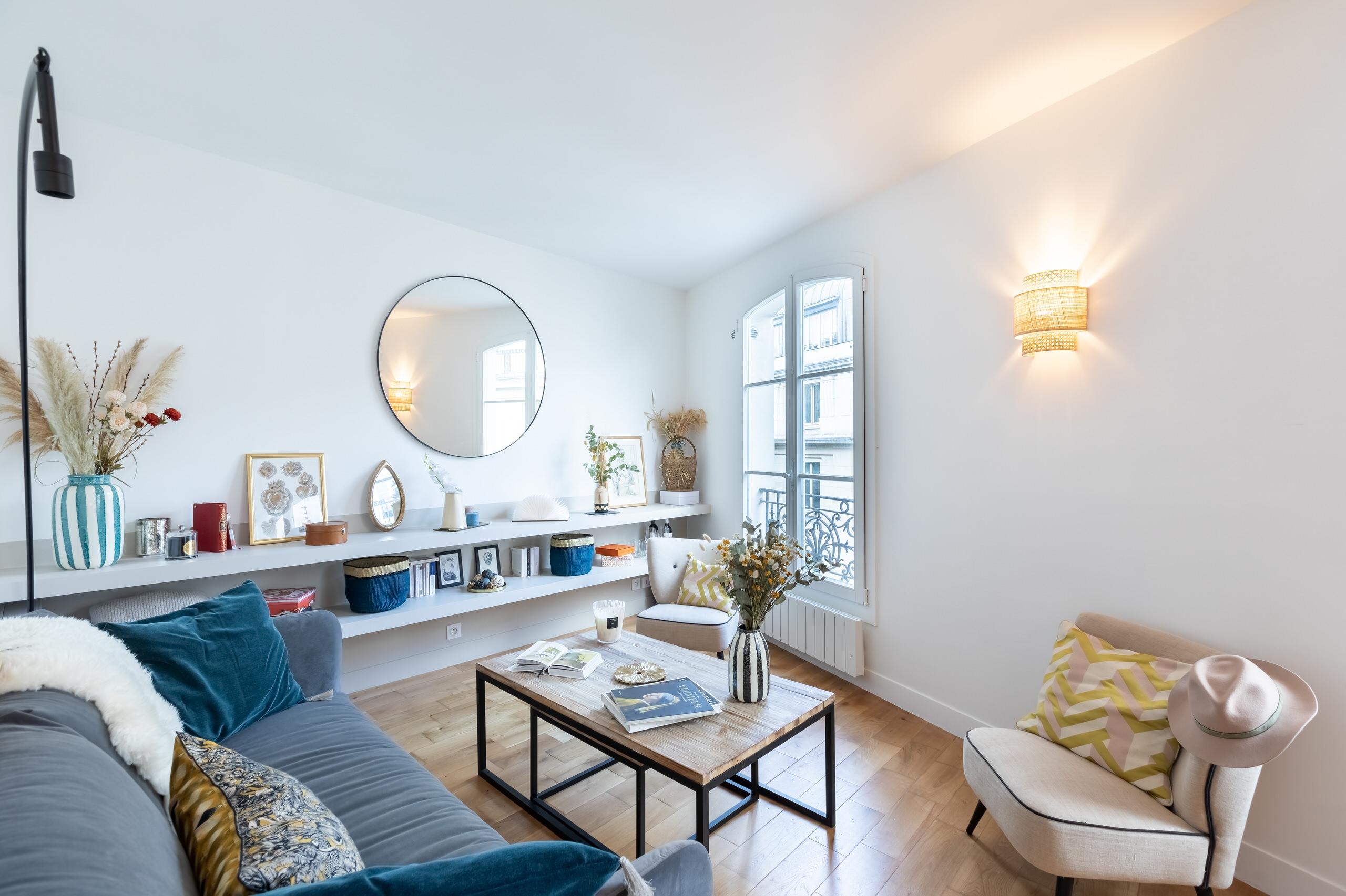 30m² au coeur de Paris - rénovation complète