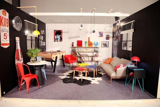 80u0027s Living Room / Salon 80u0027s Eclectic Living Room