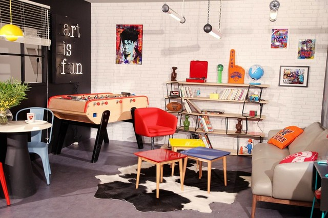 Delightful 80u0027s Living Room / Salon 80u0027s Eclectic Living Room