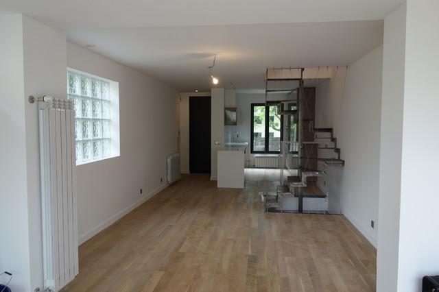 Aggrandisement et renovation d 39 une maison de ville 140m2 - Renovation d une maison de ville ...