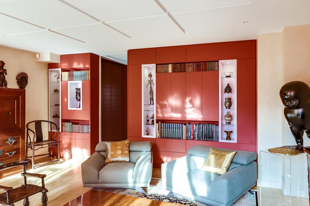 Aménagement d'un séjour et d'une cave dans maison particulière Paris XXème