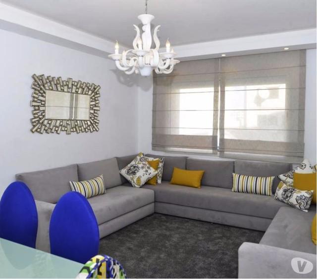 Appartement à Vendre Neuf et Moderne à Casablanca - Moderne - Salon ...