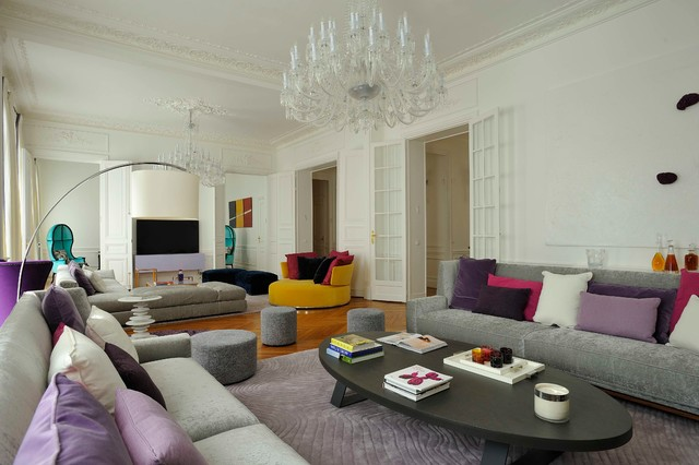 Appartement Arty Chic - Moderne - Salon - Paris - par ...