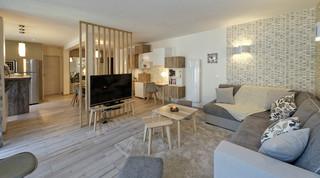 Appartement Ax Les Thermes Scandinave Salon Toulouse