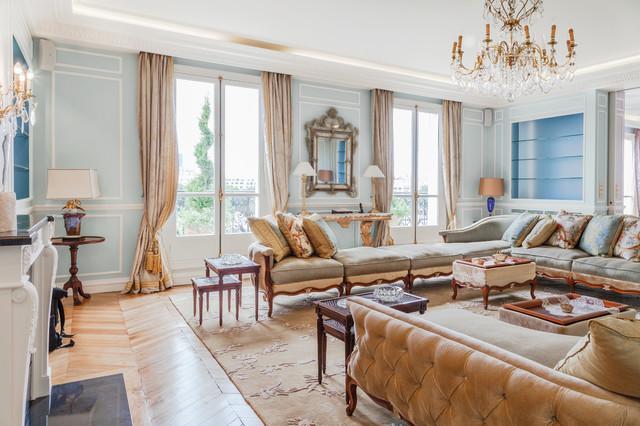 appartement de luxe triangle d 39 or paris cl sico renovado sal n par s. Black Bedroom Furniture Sets. Home Design Ideas