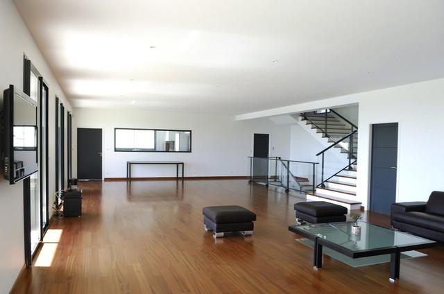 Appartement Design épuré - Moderne - Salon - Paris - par France ...