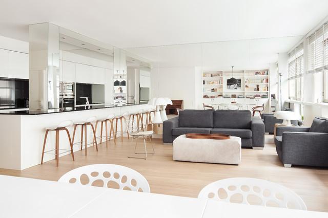Bien connu Appartement design Paris 07 - Scandinavian - Living Room - Paris  PB52