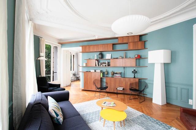 Appartement Haussmannien - Contemporary - Living Room - Paris - by ...