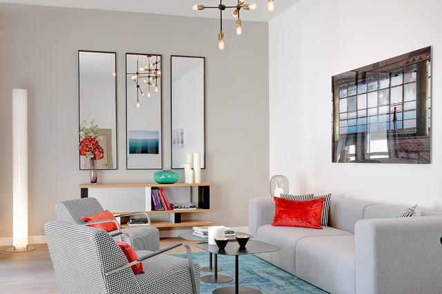 appartement haut de gamme paris contemporain salon paris par anne catherine pierrey. Black Bedroom Furniture Sets. Home Design Ideas