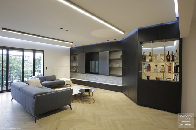 APPARTEMENT PARIS 17e - COLLABORATION AVEC L\'ARCHITECTE ET ...