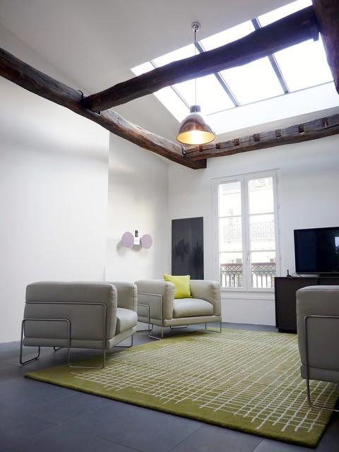 Appartement sous comble vue sur sacr coeur agence avous - Appartement sous comble ...