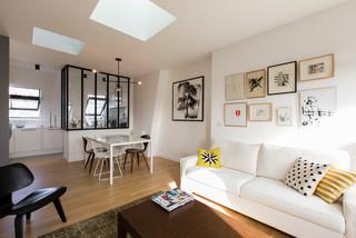 Appartement spacieux et lumineux - 65m2 nordico-salon