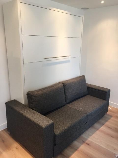 armoire lit avec canap int gr pour un v ritable gain de place. Black Bedroom Furniture Sets. Home Design Ideas