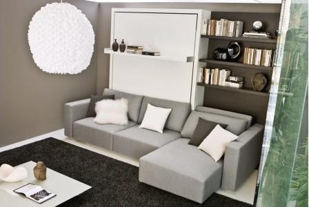 Armoire Lit Sofa Swing - Moderne - Salon - Paris - par La Maison ...