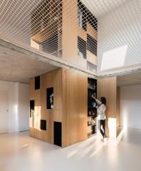 Ein unkonventionelles und minimalistisches Zuhause