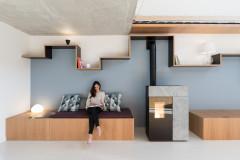 Prima e Dopo: Una Casa Minimalista Poco Convenzionale