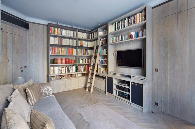 Bibliothèque Paris in-campagna-soggiorno