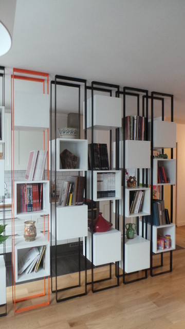 bo tes suspendues contemporain salon paris par ga lle cuisy karine martin architectes. Black Bedroom Furniture Sets. Home Design Ideas