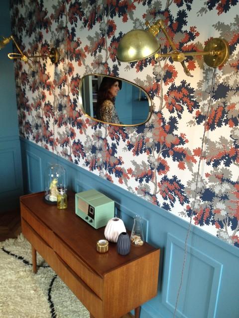 Bureau d'une créatrice de parfum rue de Londres eclectique-salon