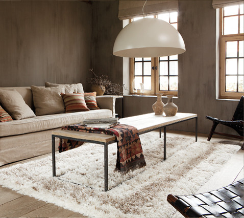 Charme Du Tapis Berbere Tropical Living Room Clermont