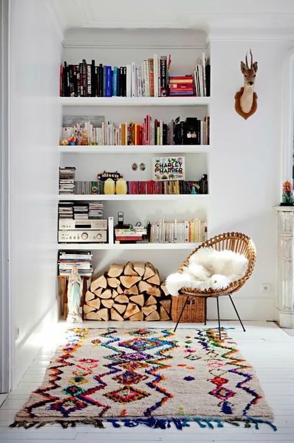 charme du tapis berbère
