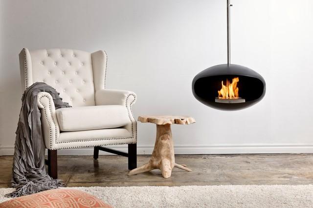 Cheminées Bioéthanol Design suspendues Cocoon Fires - Contemporain ...