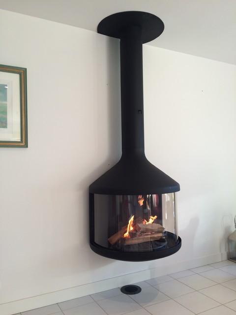 Chemin es contemporaines focus - Customiser une cheminee ...