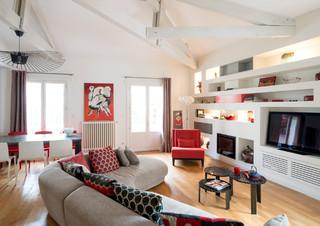 conception et r novation d 39 une maison de ville saint. Black Bedroom Furniture Sets. Home Design Ideas