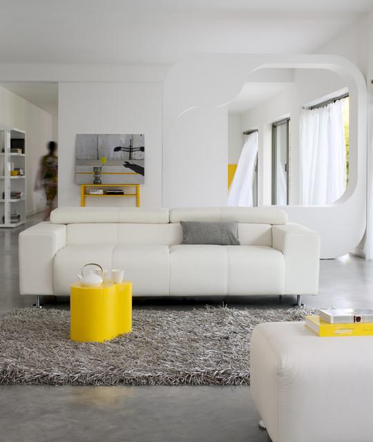 Contemporain Salon contemporaneo-soggiorno