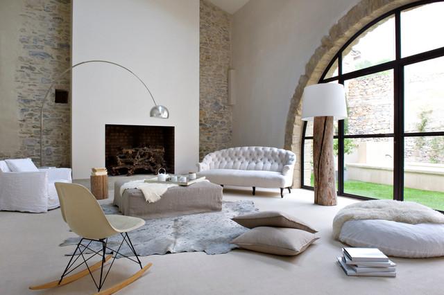 contemporain salon. Black Bedroom Furniture Sets. Home Design Ideas