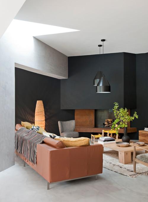 Quelles couleurs avec le gris au salon ?