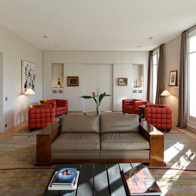 Contemporain Salon contemporary-living-room