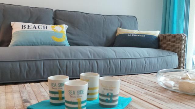 d coration appartement cancale bord de mer salon rennes par florence vatelot d coratrice. Black Bedroom Furniture Sets. Home Design Ideas